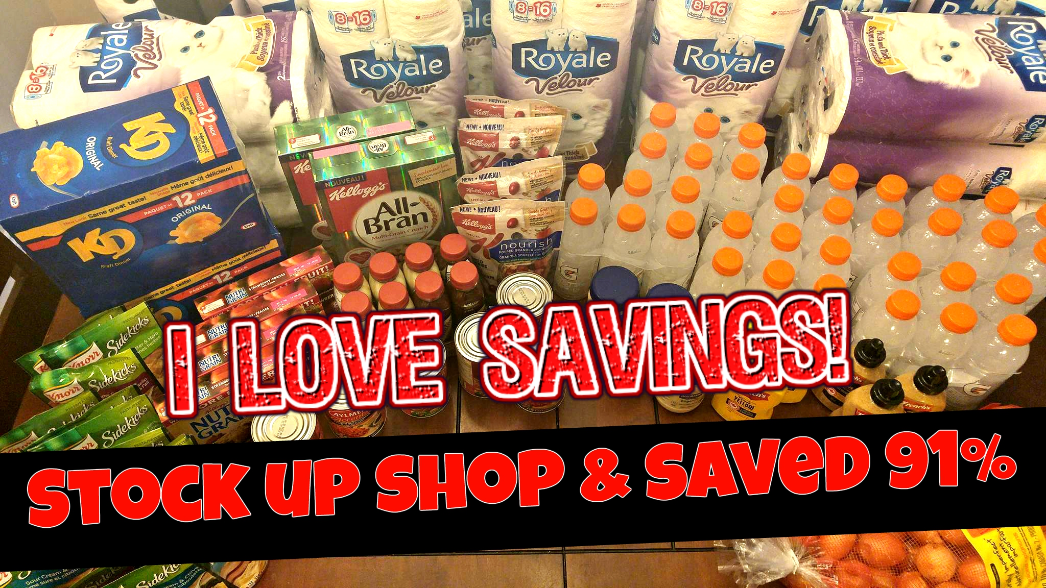 shopping haul Archives | I Love Savings | Coupons | Grocery