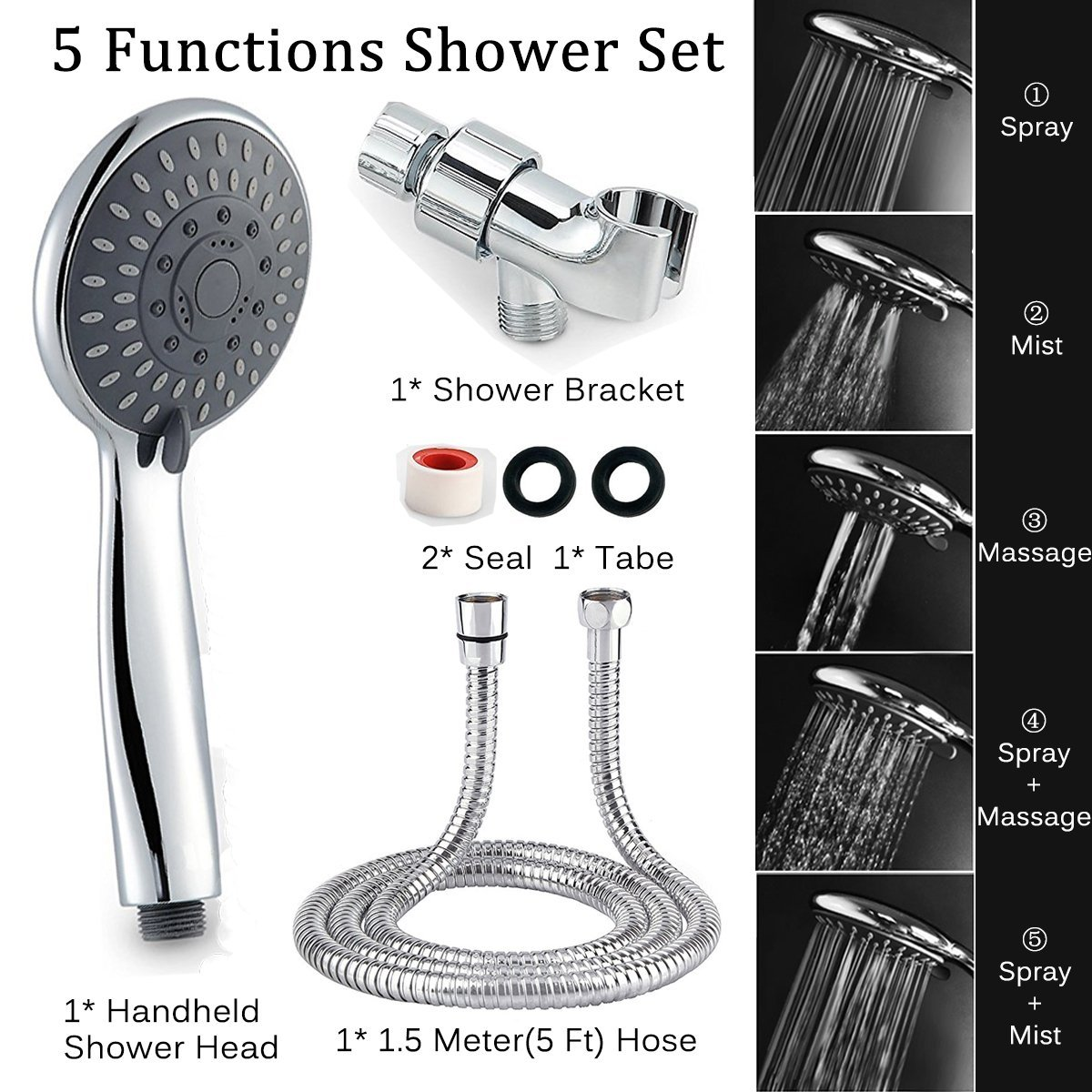 how to change shower head to handheld shower