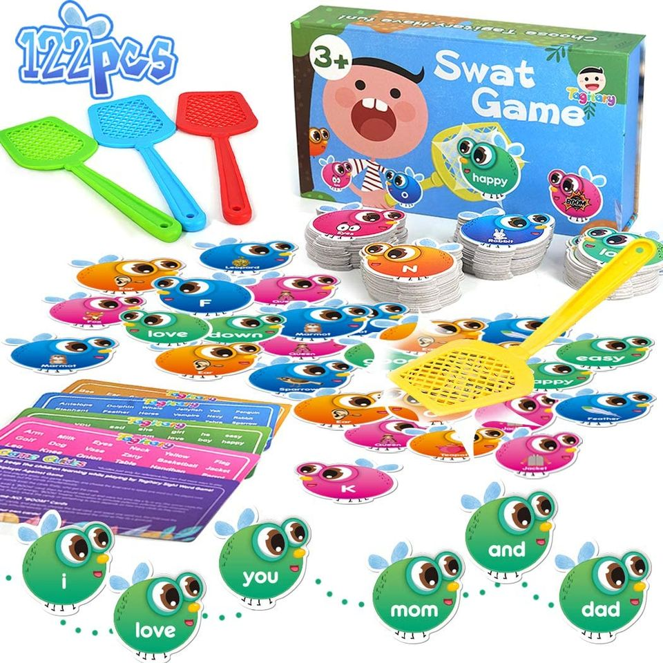 Tagitary Sight Words Game for Kids Swat a Sight Word ...